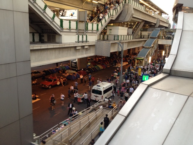 Asok Sky-Train Station