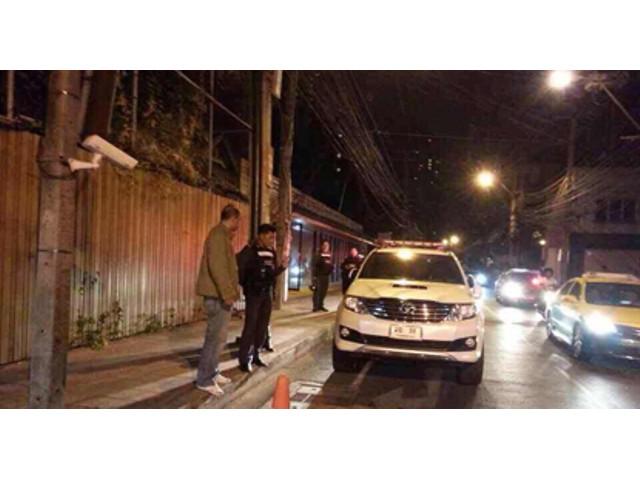 Bombenanschlag auf Abhisits Haus