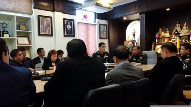 """Bei einem Treffen der Junta mit Vertretern der TV Sender wurde vereinbart, dass viele Sender wieder """"on Air"""" gehen können"""