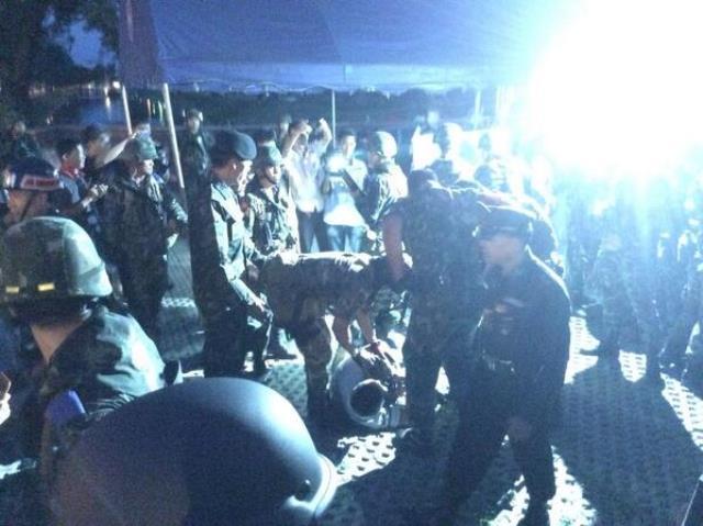 Mindestens 4 Demonstranten sind in Chiang Mai festgenommen worden